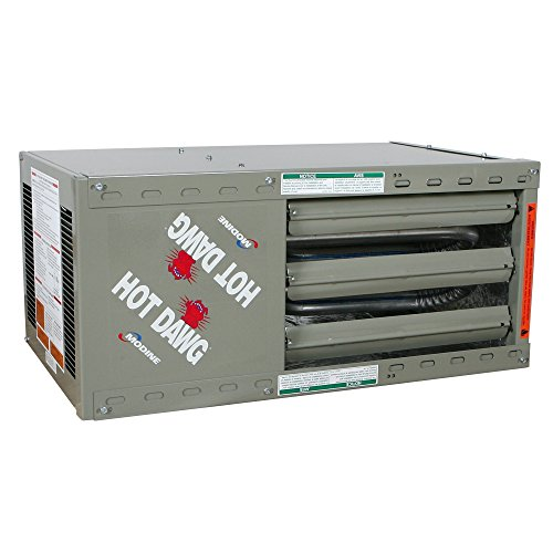 Modine HD45AS0111Natural Gas Hot Dawg Garage Heater 45,000 BTU with 80-Percent - 000 Propane 27 Btu