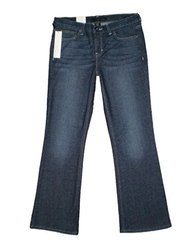 Calvin Klein At Waist Stretch Flare Fit Womens Deep Ocean Jeans Size 10 New Calvin Klein Flare Jeans