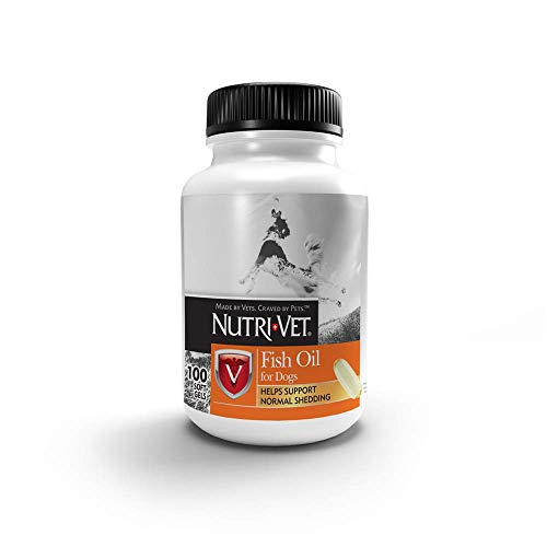 Nutri-Vet Fish Oil Supplements