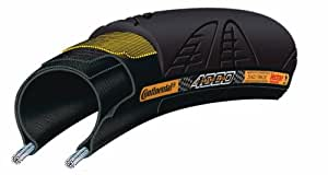 Continental Grand Prix 4000 Bicycle Tire with Black Chili (700x23, Black Transparent)