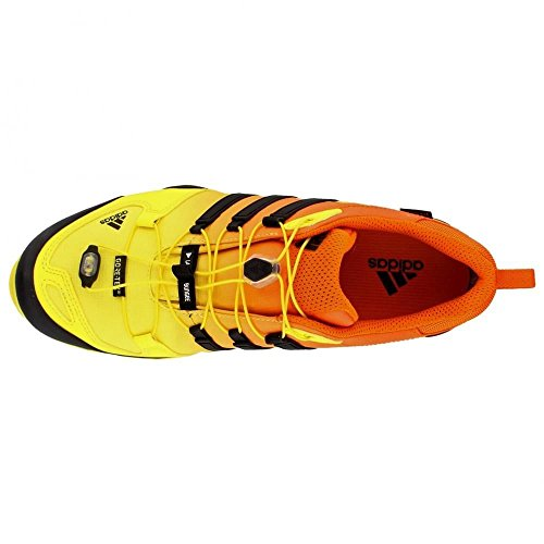 adidas al aire libre para mujer Terrex Swift R GTX Bright Yellow/Black/Unity Orange