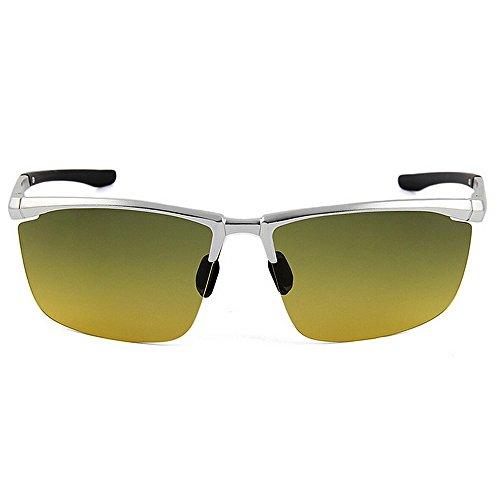Lentes Protección Sol Unisex UV400 Aviador Estilo de Color Azules diseñador de Blue Green Yxsd Tonos Gafas SunglassesMAN n8CTRYxfqf