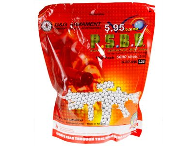 G&G .20G BBS 5000 BAG White