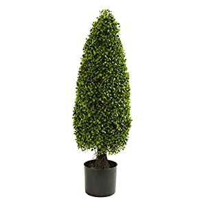 Artificial Tree -3 Foot Boxwood Tower Topiary Tree 78