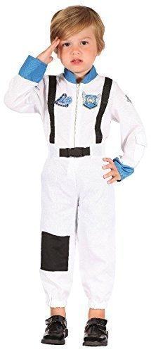 Bristol Novelty Astronauta Toddler Costume Edad 2 – 3 años