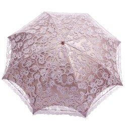 [JapaNice]ジャパナイス丸いシルエットの折りたたみ傘日傘レース二重張り遮光ブラックコーティング紫外線UVカットUPF50+全5色EP0118(ラベンダー)