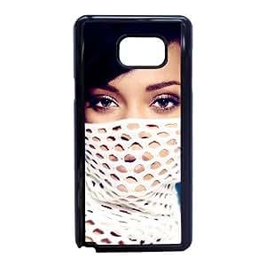 Bazar C5O08L0SW funda Samsung Galaxy Nota de Rihanna Harper 5 caso funda AYJSV6 negro