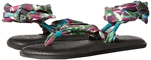 Yoga Slinged Turquoise Sandal Up Women's Sanuk Gladiator Peacock EUZB5wF