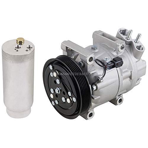 AC Compressor w/A/C Drier For Infiniti I30 & Nissan Maxima - BuyAutoParts 60-86056R2 NEW (Infiniti I30 A/c Compressor)