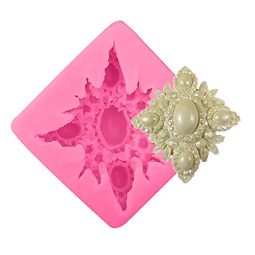 1 piece 1PC Jewelry Diamond Silicone Chocolate Soap Mold Cake Stencils Mould Pastry DIY Tools Baking Pan Kitchen Accessories Bakeware