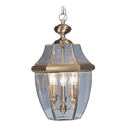 Antique Brass Outdoor Hanging Light in US - 9
