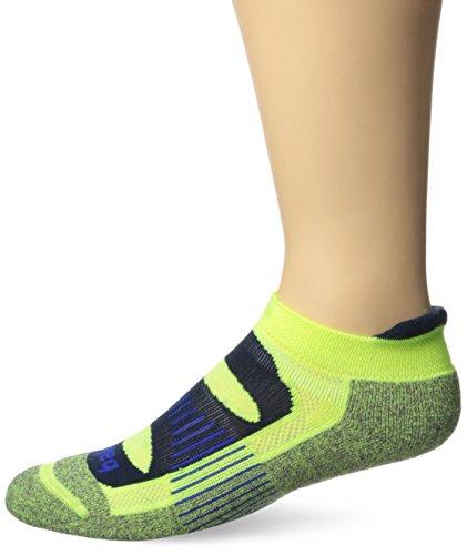 Balega Blister Resist No Show Socks, Neon Yellow, Medium