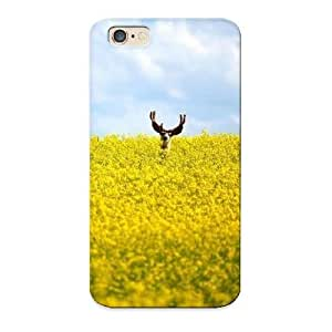 Dbdff6c6348 Rightcorner Deer In A Field Durable Iphone 6 Tpu Flexible Soft Case With Design