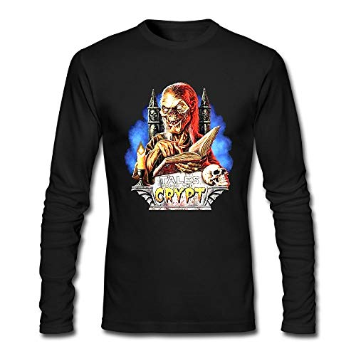 - WELLSBWSDWA GODWARDWELL Tales from The Crypt Poster Long Sleeve T Shirts for Mens&Womens Black Small -Fashion in 2018