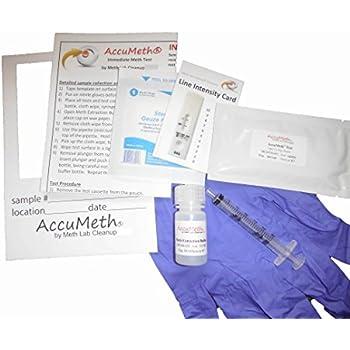 Amazon com: 25 Single Panel Methamphetamine Drug Test with