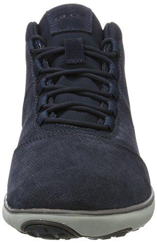 U Hautes Nebula Geox navy A Bleu Sneakers Homme wUgxxPSqd