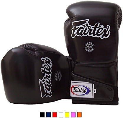 Black Red Yellow White Orange Marina Blue Size 12 14 16 oz. Fairtex Stylish Angular Sparring Gloves BGV6 Color