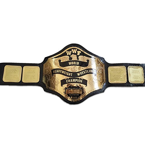 Black Friday Sale: $50 Off WWF World Heavyweight Championship Replica Title Belt Commemorative Name Tag - Off Friday 50 Black