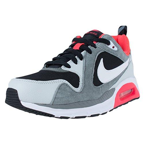 Nike Air Max Trax (gs) Crianças Cinzento Rosa Preto Sapatilhas Sapatos Novos