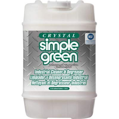 Simple Green 19005 Crystal Industrial Cleaner/Degreaser, 5 Gallon Pail Degreaser 5 Gallon Pail