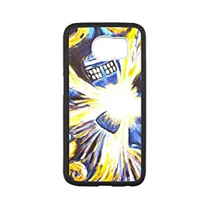Samsung Galaxy S6 Cell Phone Case White Doctor Who xlb