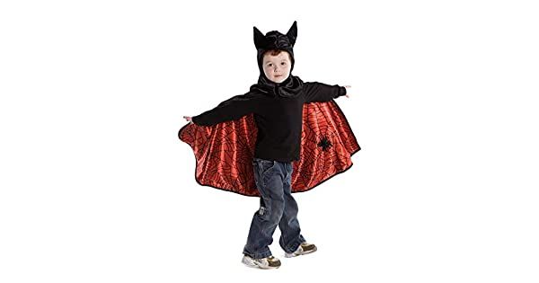 Creative Educations Spider and Bat Reversible Kids Cape GP55273