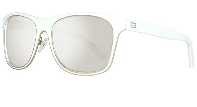 Guess Sonnenbrille GU6851 5621C Gafas de Sol, Blanco (Weiß ...
