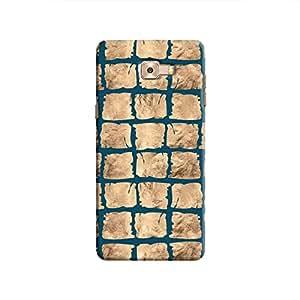 Cover It Up - Rock Dark Blue Break Galaxy C9 Pro Hard Case