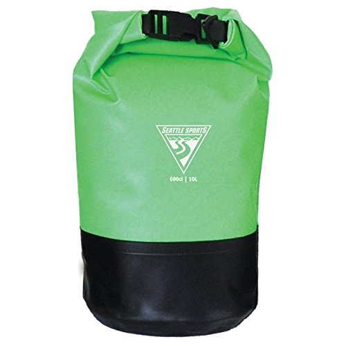 Seattle Sports Built U.S.A Explorer Dry Bag, Lime, 10-Liter ()
