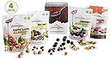 Lamontagne, Chocolate, Variety Pack, 4