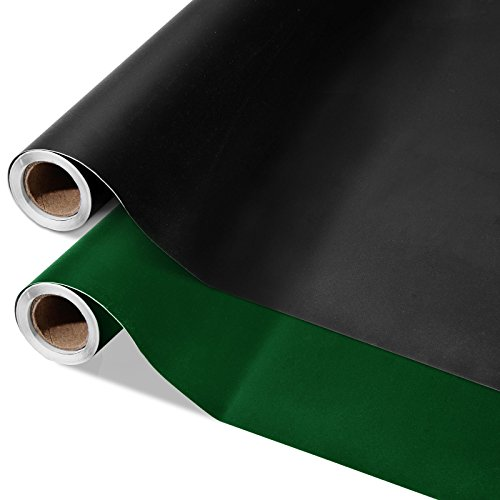 casa pura® Multifunktions - Tafelfolie | selbstklebend | 43x300cm | in 2 Farben | schwarz