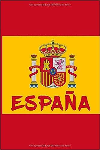 España: A5 / 6x9 / Calendario / Rústica / Cuaderno / Para todos los fans de España y Madrid: Amazon.es: cuaderno, España: Libros