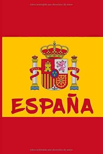 España: A5 / 6x9 / Calendario / Rústica / Cuaderno / Para todos ...