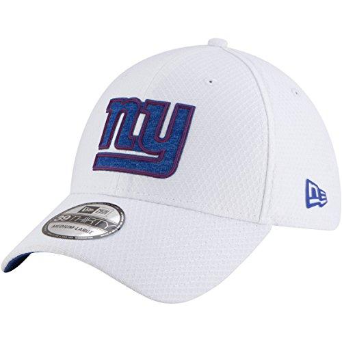 New York Giants Training Camp - New Era New York Giants 2018 Training Camp 39THIRTY Flex Hat - White (S/M)