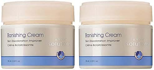 Avon Solutions Set of 2 Banishing Cream Skin Discoloration Improver