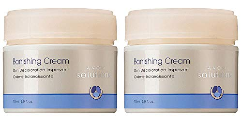 Avon Solutions Set of 2 Banishing Cream Skin Discoloration Improver