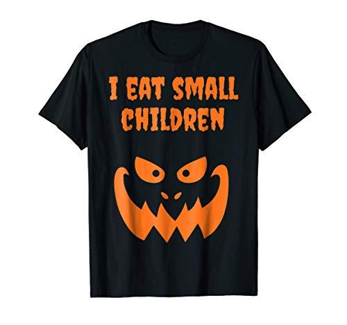 (I Eat Small Children Halloween Pregnant Costume Funny)