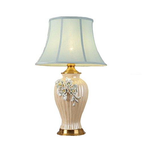 70 Cm Ceramic (TIANTA-Light European living room bedroom bedside ceramic table lamp 42cm 70cm)