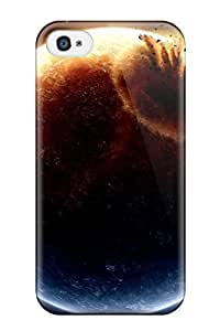 New Fashion Premium Tpu Case Cover For Iphone 4/4s - Collision