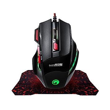Amazon.com: MARVO Gaming Mouse, Fire Key 7 Button USB Ergonomic ...