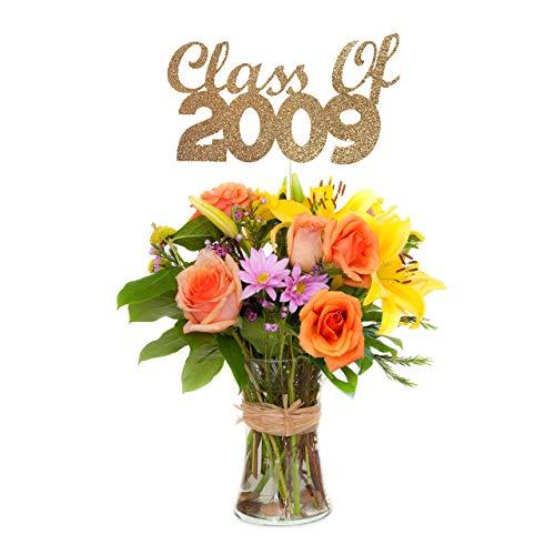 Class of 2009 Centerpiece Stick (Set of 3), 10 Year Class Reunion Centerpiece Stick -