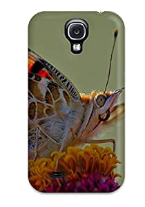 RvevdSl815lmirj Snap On Case Cover Skin For Galaxy S4(butterfly Macro)