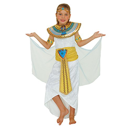 Uk Cleopatra Costume (Girls Egyptian Cleopatra Fancy Dress Costume Queen Or Princess Ages 3 to)