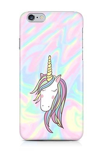 Cover Einhorn Unicorn holographic Handy Hülle Case 3D-Druck Top-Qualität kratzfest Apple iPhone 6 Plus / 6S Plus