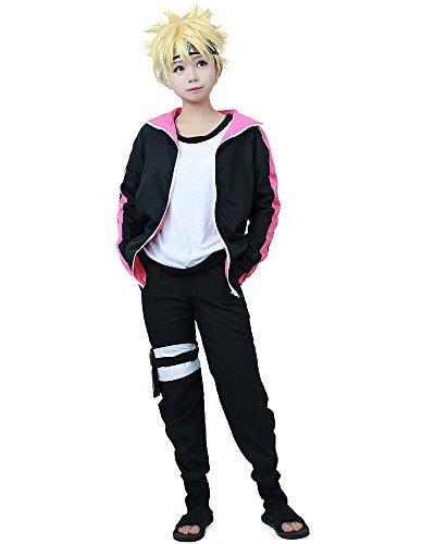Miccostumes Mens Naruto the Movie Boruto Uzumaki Cosplay Costume (Men M)