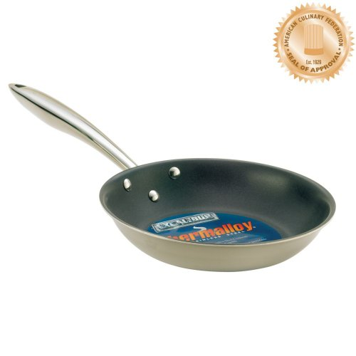 """Browne (5724096) 8"""" Induction Ready Stainless Steel Frying Pan"""