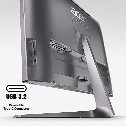 "Acer Chromebase AIO Desktop, 23.8"" Full HD Touch Screen, Intel Core i3-8130U Processor, 8GB DDR4 Memory, 128GB M.2 SSD, 802.11ac WiFi 5, Bluetooth 4.2 LE, Chrome OS, USB Keyboard & Mouse, CA24I2-3T2"