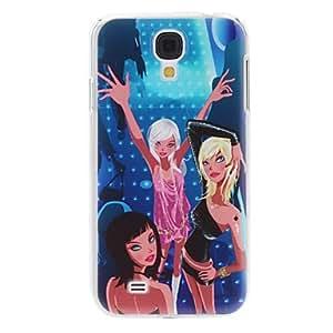Dancing Girl Pattern Hard Case for Samsung Galaxy S4 I9500