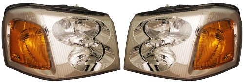 02-09-gmc-envoy-xl-xuv-headlights-headlamps-head-lights-lamps-pair-set