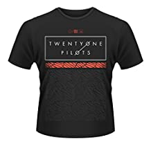 Twenty One Pilots Scale Pattern Strip Rock Official Tee T-Shirt Mens Unisex